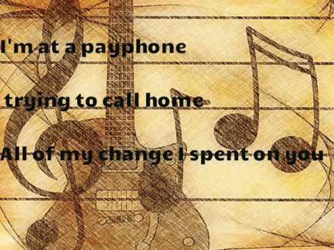 Maroon 5 Payphone Clean Karaoke Phim Video Clip