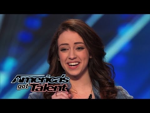 "Anna Clendening: Nervous Singer Delivers Stunning ""Hallelujah"" Cover - America's Got Talent 2014"
