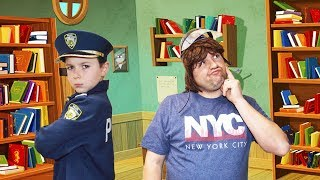 The Search for the Missing Files a silly funny kids video