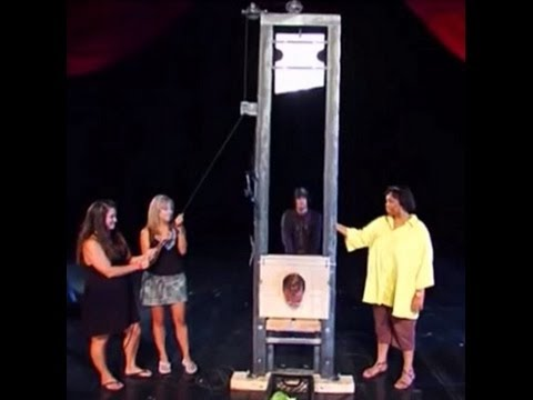 Criss Angel the mindfreak performs a very dangerous trick but did that go wrong?