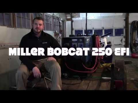 Miller Bobcat 250 EFI Engine Driven Welder - Review