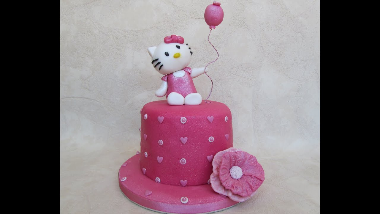 how to make hello kitty cakes videos