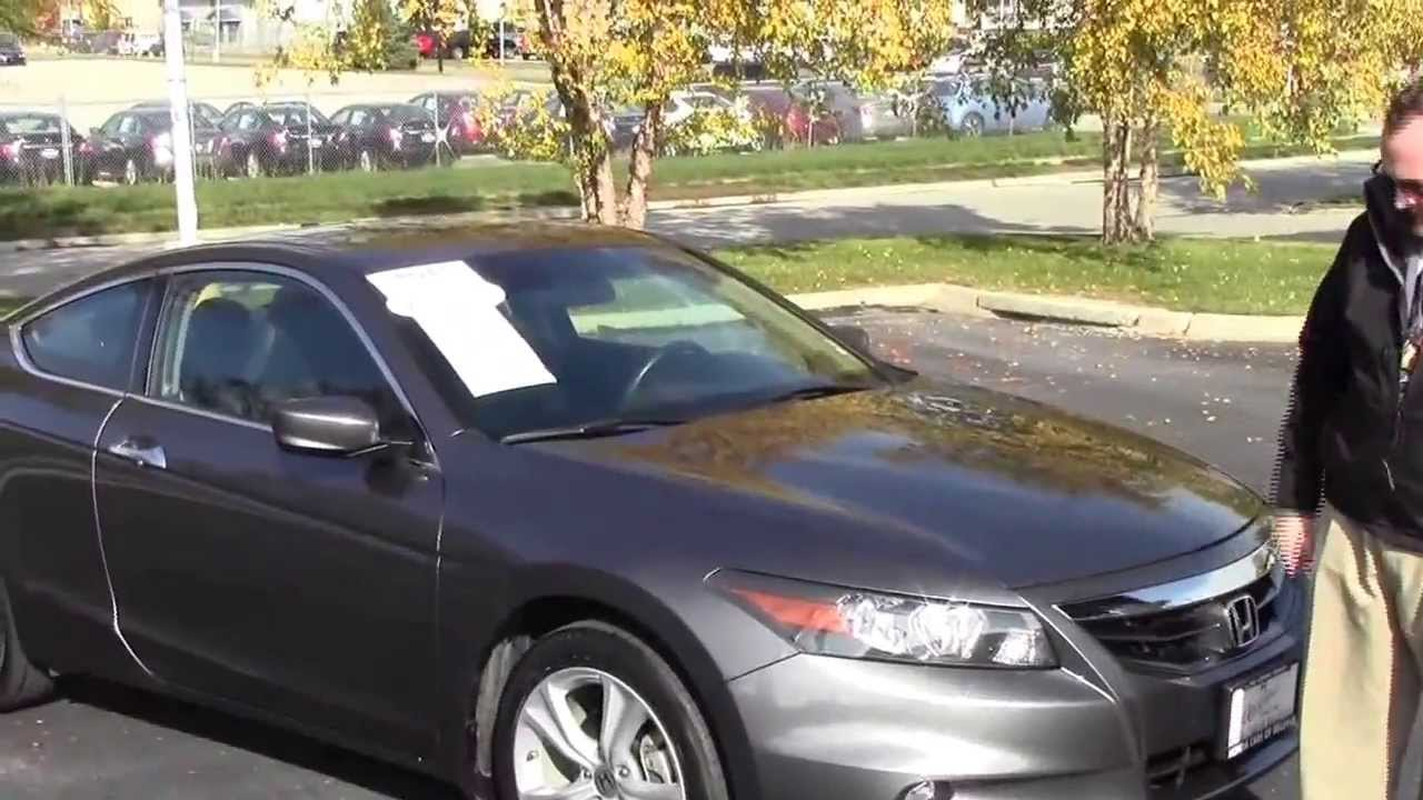 Used 2011 Honda Accord Ex L V6 Coupe For Sale At Honda