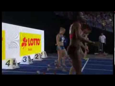 2014 ISTAF Indoor women 60m hurdles final - Sally Pearson blazing in 7.80
