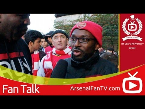 Arsenal 1 Newcastle United 0 - Loic Remy Didn't Even Get A Touch - ArsenalFanTV.com