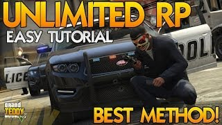 GTA 5 Online Unlimited RP Glitch After Patch How To Rank