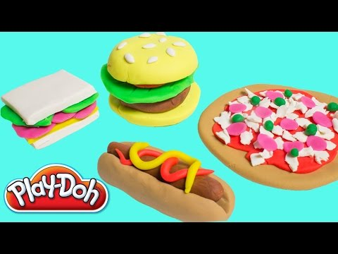 Play doh food creations play doh cookout creations new for Play doh cuisine