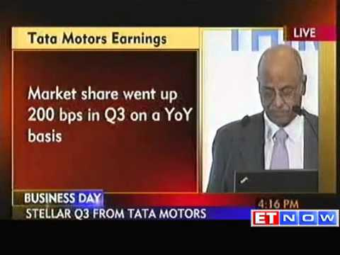 Tata Motors Q3 net profit up 195%