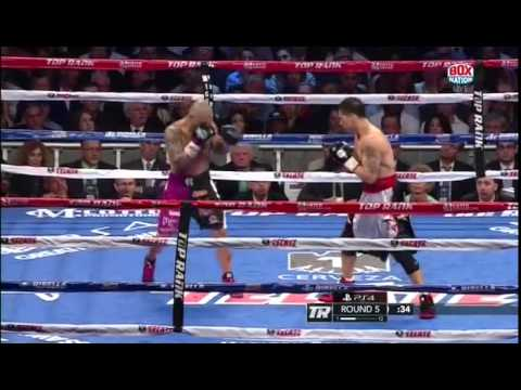Boxing Miguel Cotto vs Sergio Martinez 7th June 2014