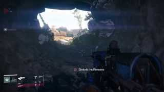 """Destiny Loot Cave Easter Egg Dead Remains """"Haunted Message"""