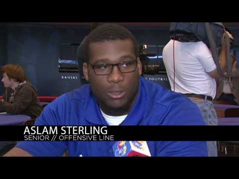 Kansas Football Player Interviews 10/23/13