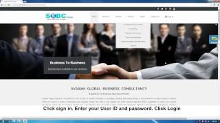SGBC Global Create Transaction password Global demovideo