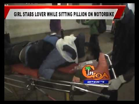 GIRL STABS LOVER WHILE SITTING PILLION ON MOTORBIKE
