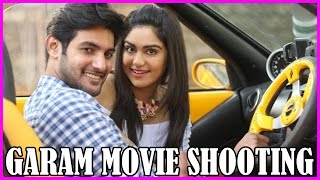 Garam Movie Latest & New Stills - On Location - Aadi & Adah Sharma