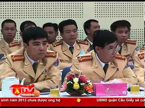 Bí thư Thành ủy Hà Nội thăm, chúc Tết lực lượng CSGT
