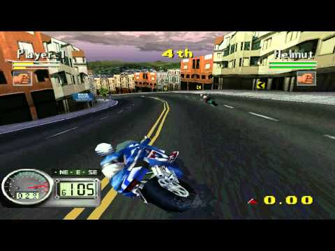 Road Rash 3D - Gameplay Clássico do Ps1