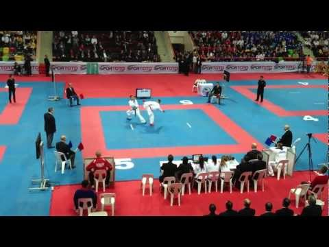 Steven Dacosta FRA & Chris Noerskov-Jensen DEN final junior -61 EKF Konya 2013