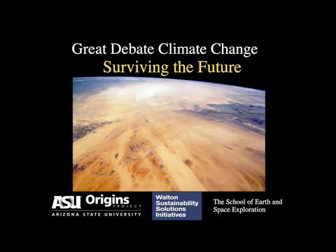 The Great Debate: CLIMATE CHANGE - Surviving The Future (OFFICIAL) - (Part 1/2)
