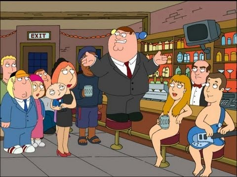 Family Guy: Happy New Year 2013 -Epic Chicken Fight II- [HD]