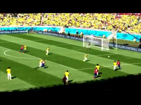 Alexis Sanchez vs Brazil - WC 2014