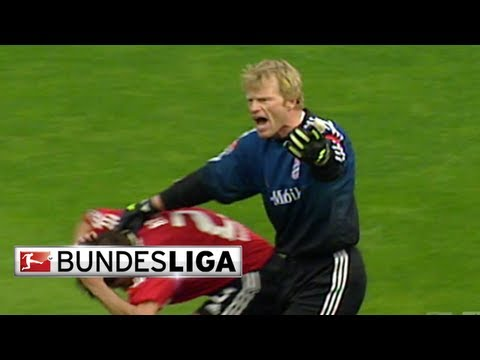 Goalkeeping Titan Oliver Kahn Brings Terror to the Pitch