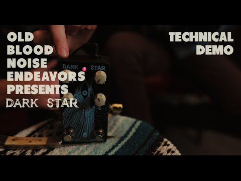 Old Blood Noise Endeavors Dark Star Pad Reverb Pedal V2