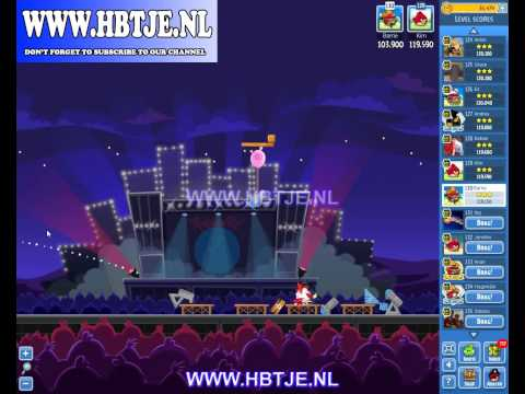 Angry Birds Friends Tournament Week 69 Level 5 high score 124k (tournament 5) Rock in Rio