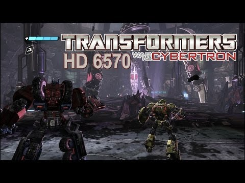 Transformers - War for Cybertron - Gameplay HD 6570