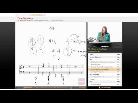 Music Theory: Time Signature -XPykGVRcsVs