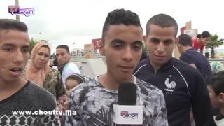 لمغاربة مزالين محتافلين بالعيد..أجواء من عين الذئاب |
