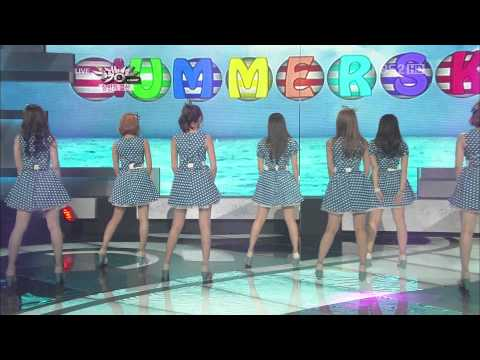 [HD] Performance 120629 A Pink - Ocean + HUSH (Special Stage)