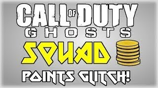 """Call Of Duty: Ghosts 1000+ Squad Points """"Glitch"""""""