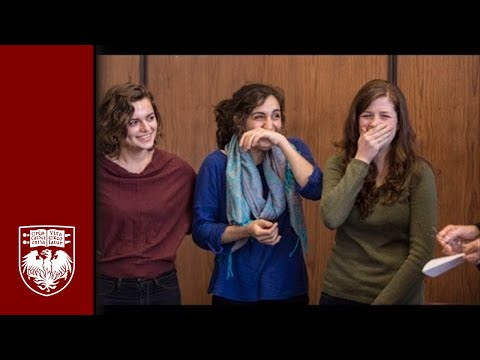 Ceremony surprises UChicago students with news of Truman Scholarship