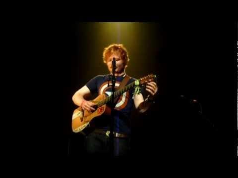 Ed Sheeran - Guiding Light (Foy Vance Cover) - Antwerp 20.11.2011