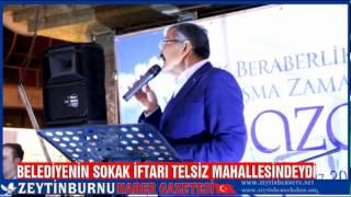 Zeytinburnu Belediyesi Sokak İftarı Telsiz Mahallesindeydi