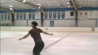 Advanced Ice Skating Jumps : The Double Axel Ice Skating Jump