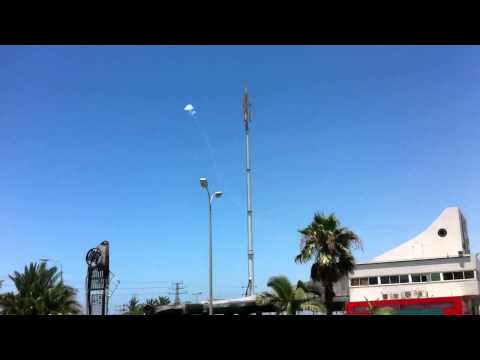 Iron Dome intercepts two rockets over Ashdod