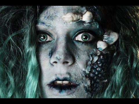 Mermaid Makeup SFX Tutorial - Disney Halloween Inspiration