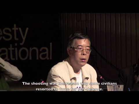 Wu Renhua on Tiananmen Massacre Trilogy