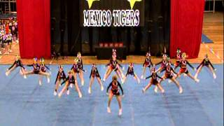 Mexico Tigers Empire Cheer 2013
