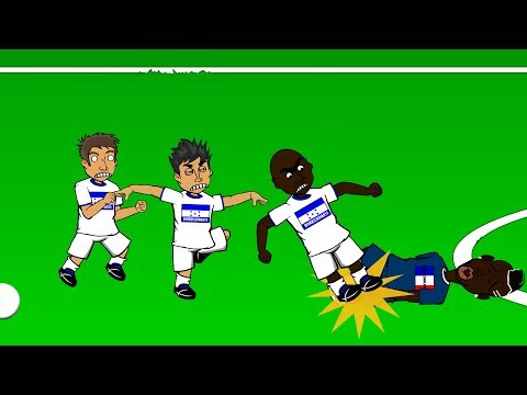 FRANCE v HONDURAS 3-0 by 442oons (World Cup 2014 Cartoon 15.6.14)