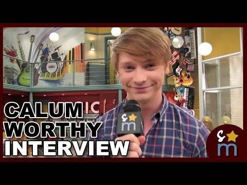 Calum Worthy Interview: AUSTIN & ALLY Season 3, Dez's Career & Coppertop Flop Show and