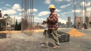 Construcción de columna de concreto
