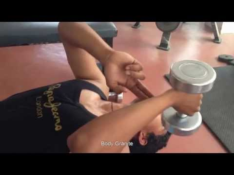 Celebrity fitness Triceps workout Hyderabad fitness club