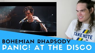 Voice Teacher Reacts to Panic! At The Disco - Bohemian Rhapsody