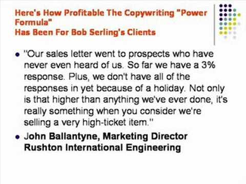 Power Copywriting for the internet -  by Bob Serling