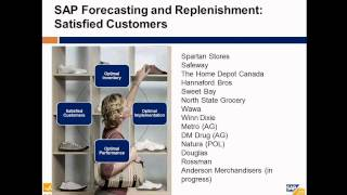 SAP For Retail With A Demo Of SAP Forecasting