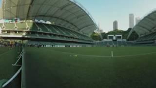 Juventus in Hong Kong 360° training experience