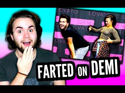 I FARTED ON DEMI LOVATO AT A MEET AND GREET | STORYTIME (With Pictures) | She Tweeted About My Fart!