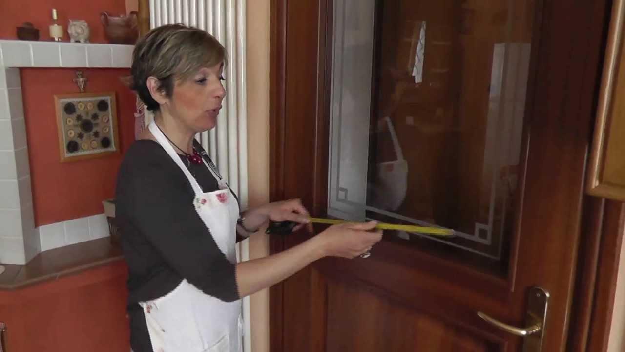 Come misurare le porte finestra per le tende veli - Tende a pacchetto per porta finestra ...